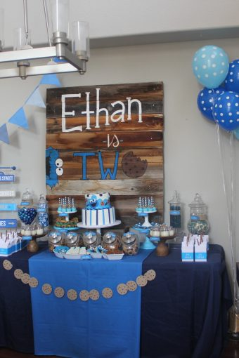 Cookie Monster Ethan Turns Two